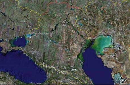 Юго-западная зона ПВО- не активные объекты