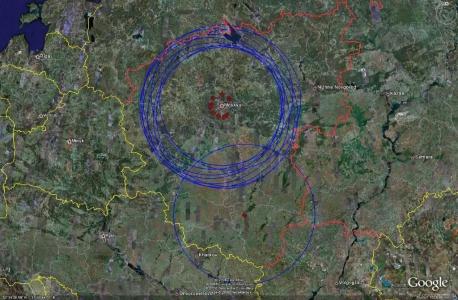 Западная зона ПВО - радар 64N6