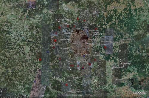 Западная зона ПВО - Москва