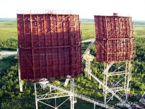 Станция системы тропосферной связи Север