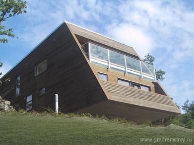 RB Arkitektur - дом - бункер в Швеции