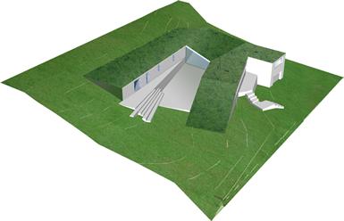 RB Arkitektur UH1- дом-бункер в Швеции