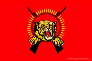 "флаг ""Тамильских тигров"""