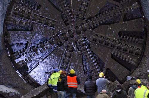 проходческие щиты (TBM: Tunnel Boring Machines