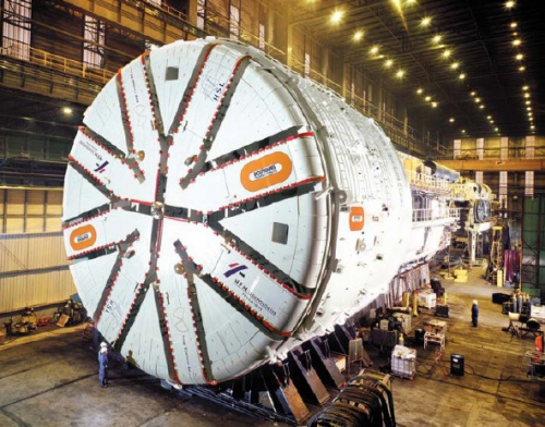 проходческие щиты (TBM: Tunnel Boring Machines
