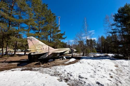 Учебный полигон инженерных войск - подмосковье