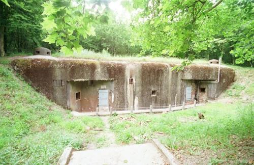 Укрытие Дюбуа в местечке Каттеном (линия Можино, Франция)