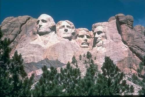 Гора Рашмор - 4 президента США