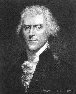 третий президент США Томас Джефферсон
