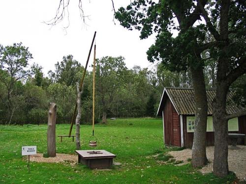 Ведьмин колодец в Эстонии