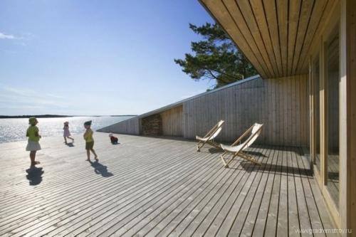 Вилла на берегу (Финляндия)