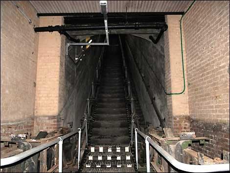 эскалаторы в «Стокуэлл»