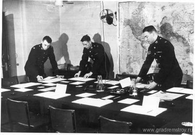 Бункер Уинстона Черчилля — «Военный кабинет»