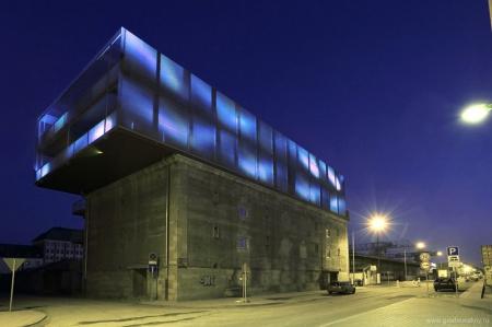 Художественная студия на крыше бункера во Франкфурте