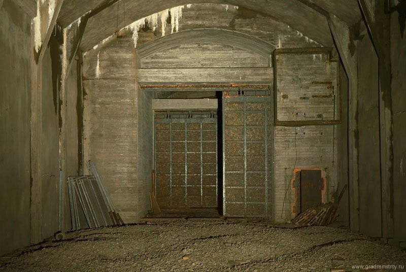 Заброшенная Шведская резервная электростанция