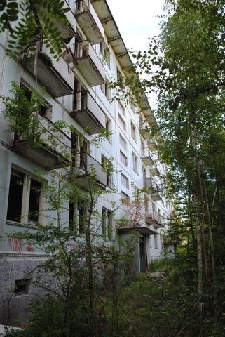 Заброшенный советский военный городок в Чехии