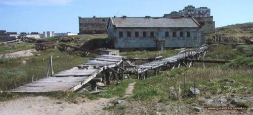 Заброшенные города Кольского полуострова