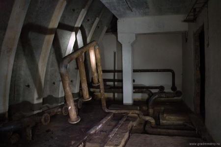 Заброшенный узел связи в Подмосковье