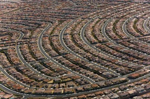 Пригород Лас-Вегаса Хендерсон. Невада, США