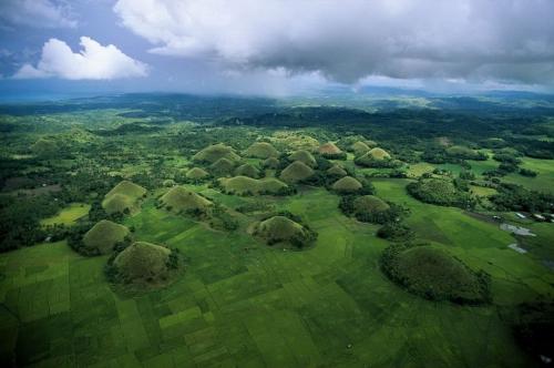 Шоколадные горы. Остров Bohol, Филиппины