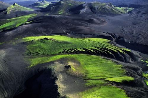 Горная местность вблизи Maelifellssandur,Исландия