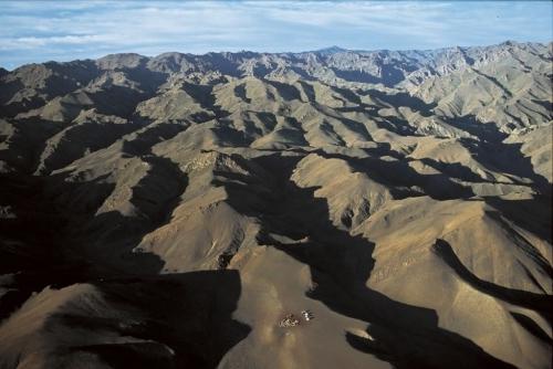 Кочевники в горах, Монголия