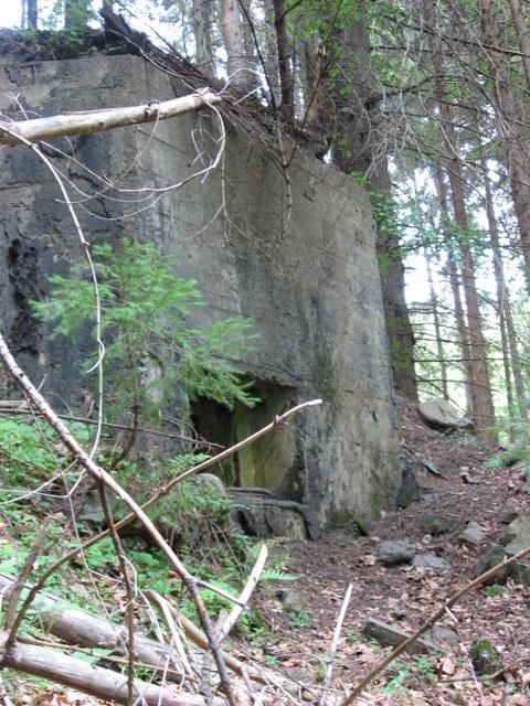 Бункеры «линия Арпада» в Закарпатье