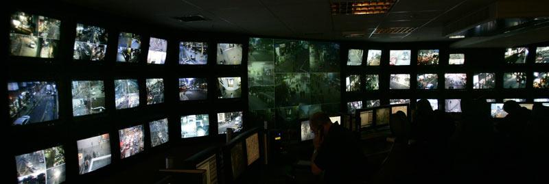 Секретный бункер видеонаблюдения в Лондоне