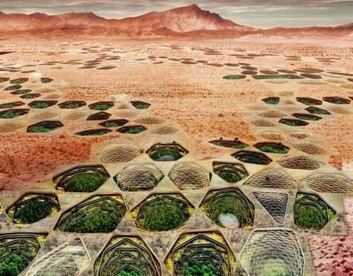 Сиетч: подземный город в пустыне Невада