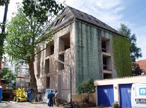 Старый бункер как новый дом в Бремене