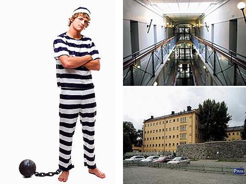 Швеция  тюрьма