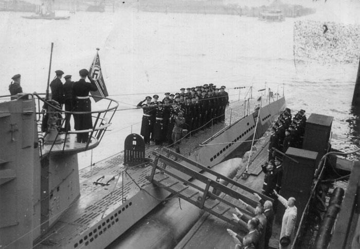 База-бункер немецких подводных лодок