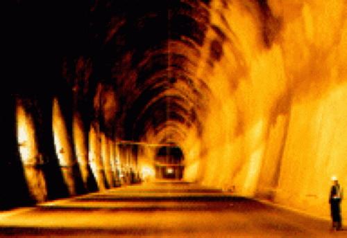 Подземный центр хранения нефти