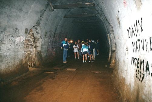 Бункер под монастырем в Чехии
