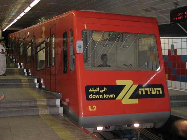 Израильское метро как убежище