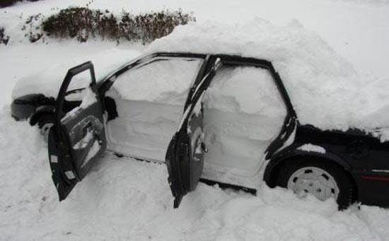 В Эстонии зафиксирован рекордный за последние полвека снегопад