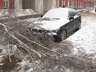 На Москву надвигается ледяной шторм