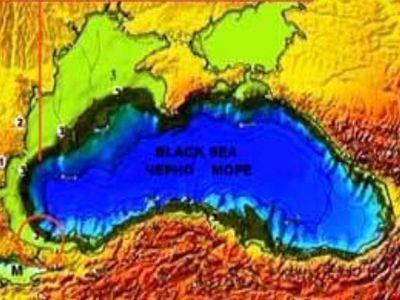 Черное море до Всемирного потопа