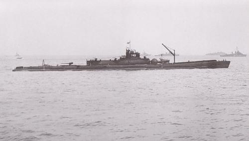 уникальные японские подводные лодки-авианосцы
