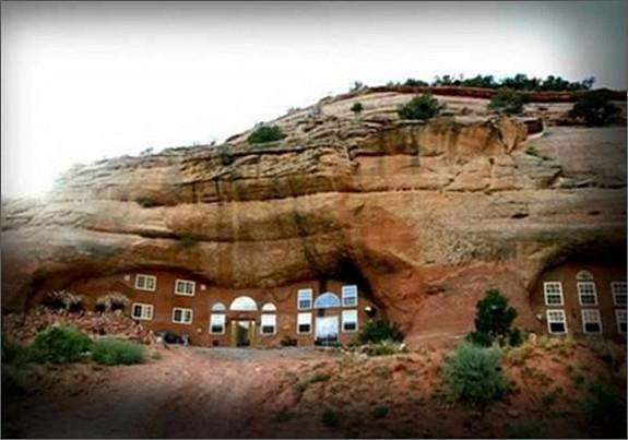 пещерный дворец, расположенной в каньоне Монтесума