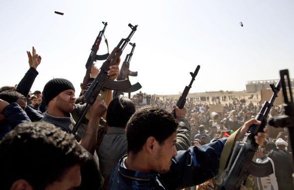 Ливия в огне