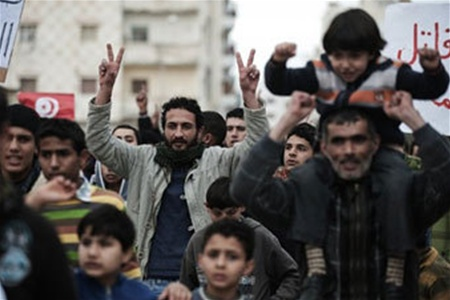 Запад врет о бунте в Ливии