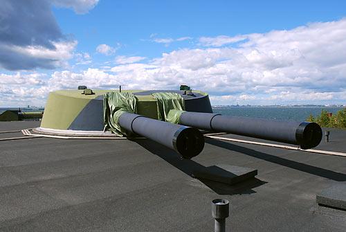 Береговая артиллерия Финляндии - Куйвaсаари