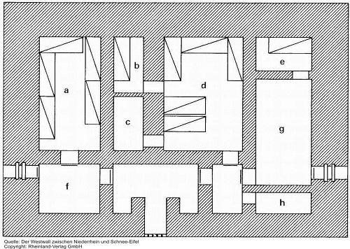 Бункер тип regelbau 32