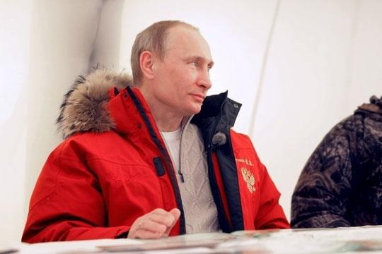 Путин в Саянах