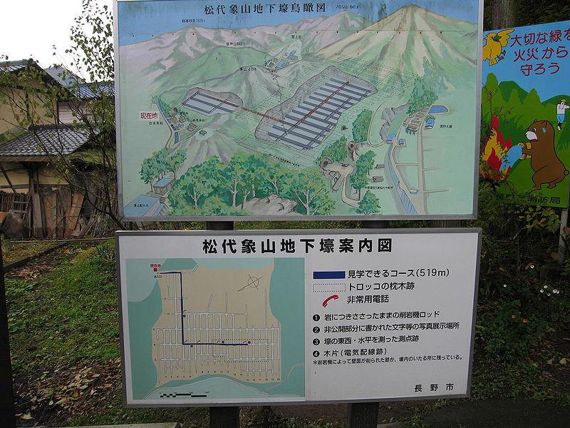 Подземная ставка императора - Matsushiro