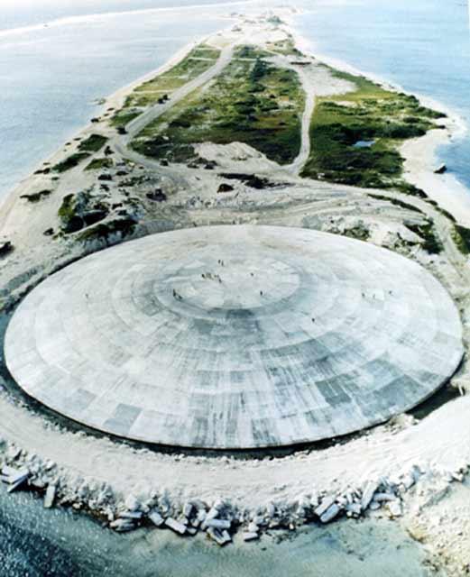 Ядерная мусорная корзина на атолле Эниветок