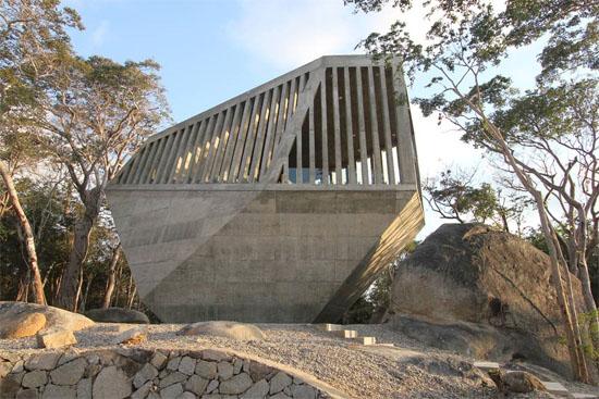 Часовня Заката (Sunset Chapel) от Бункер Архитектура (Bunker Arquitectura). Акапулько, Мексика.