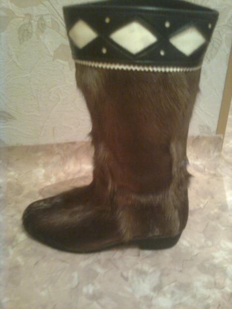 обувь из камуса