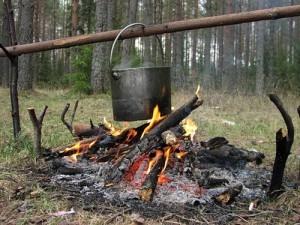 Приготовление еды в походных условиях